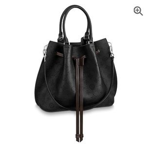 5db6f20a63a1d Women s Louis Vuitton Mahina Black Handbag on Poshmark